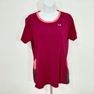Under Armour Fitted Women's Athletic T-shirt Size